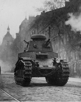 Танк Т-18 образца 1927 года.